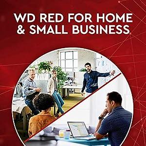"WD Red 6TB NAS Internal Hard Drive - 5400 RPM Class, SATA 6 Gb/s, SMR, 256MB Cache, 3.5"" - WD60EFAX"