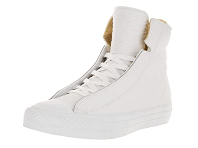 e7d315b1a48a Image Unavailable. Image not available for. Color  Converse Men s Chuck  Taylor All Star Alpha Hi White White Casual Shoe ...