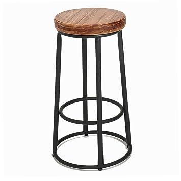 ZfgG Chaise De Bar Bureau Tabouret Structure En Metal Noir Et Assise