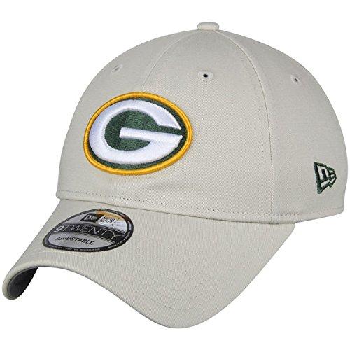 Green Bay Packers New Era Playmaker 9TWENTY Adjustable Hat Khaki ()