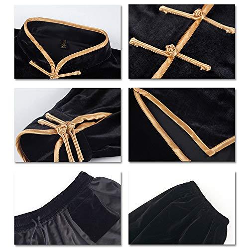 Kung Ensembles Traditionnel Formation Hiver Fu Wing Martiaux Épaisse Shaolin Vêtements Chun Chaud Kindoyo Costumes Violet Chinois Foncé D'arts Unisexe zanw0PFq