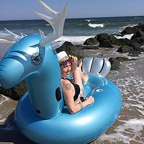 巨大な動物の膨脹可能なプールの浮遊列、膨脹可能なプールのおもちゃ、海辺の写真の小道具の浮遊行大人/子供水泳おもちゃ、275x140x120CM 綺麗な