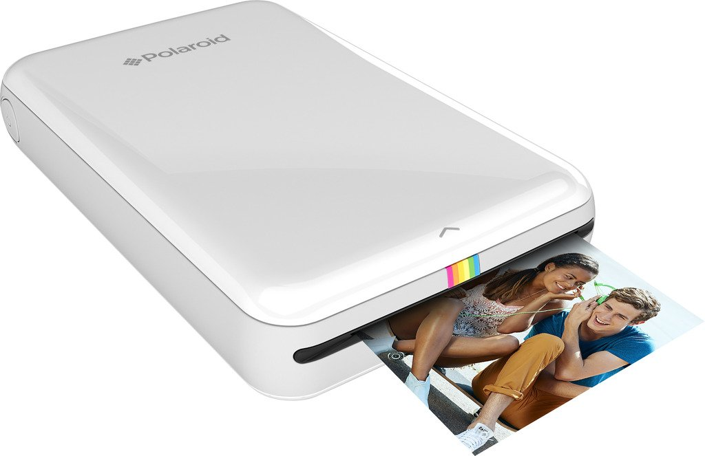 Polaroid: pack de regalo ZIP de impresora portátil + papel ZINK (20 hojas) + 9 packs de pegatinas únicas + bolsa + rotuladores dobles + marcos + álbum de ...
