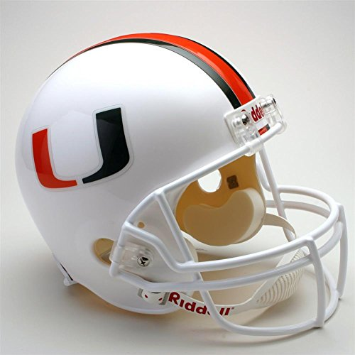 Miami Hurricanes Riddell Replica Deluxe Helmet