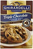Ghirardell Chocolate Triple Chocolate Semi Sweet- Milk- Bittersweet Cookie Mix – 52.5 oz