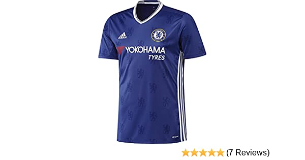 9e1e16c2f Amazon.com : adidas Chelsea Home Jersey 2016/2017 - XS : Sports & Outdoors