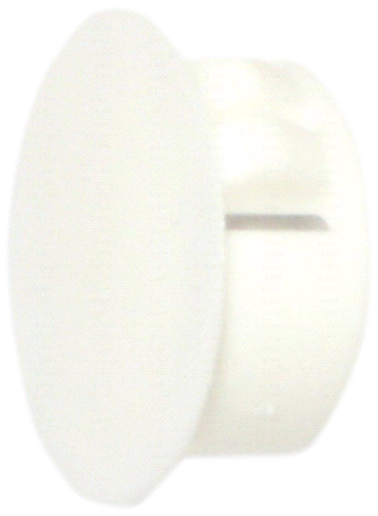 Hard-to-Find Fastener 014973169763 White Hole Plug, 3/4-Inch