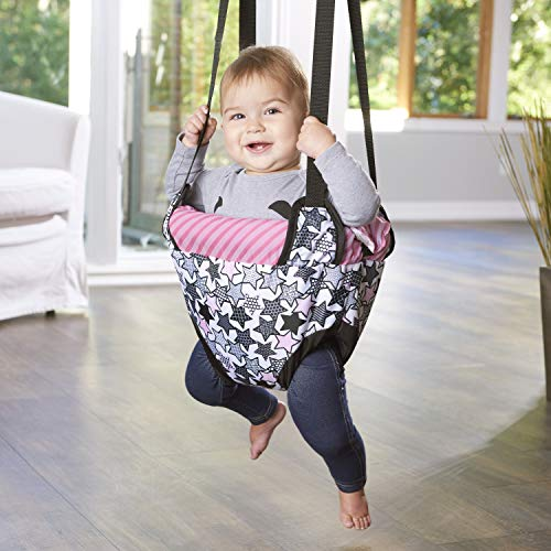 Learn More About Evenflo Doorway Jumper (Pink Star Power)