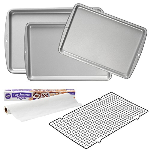 Wilton Supplies, 5-Piece Essential Cookie Baking Quality Value Set, 2109-3673, ()
