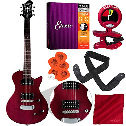 Hagstrom Ultra Swede ESN Electric Guitar Transparent for sale  Delivered anywhere in Canada