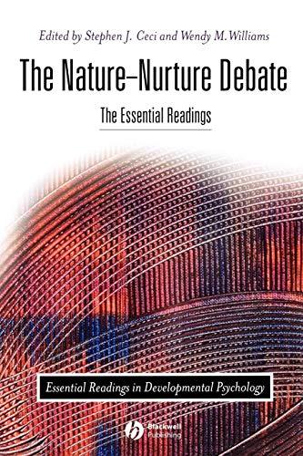 Nature-Nurture Debate (The Nature Nurture Debate The Essential Readings)