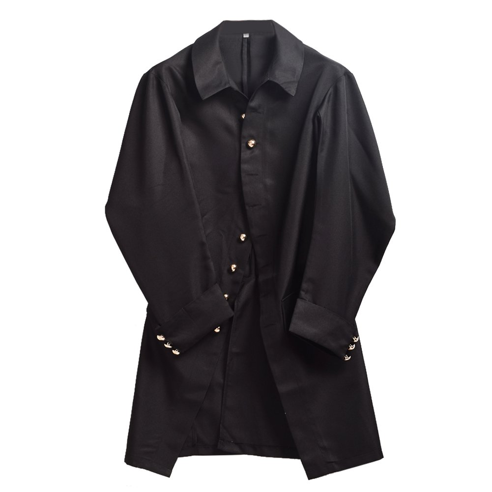 BLESSUME Colonial Men Coat Black