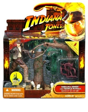 Indiana Jones Deluxe: Wave 1 Indiana Jones With Spike Pit Trap (Distressed Packaging)
