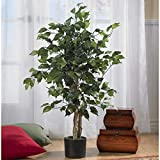 Nearly Natural 3' Ficus Silk Artificial Trees