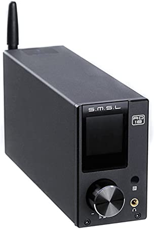Amplificatore SMSL SA-50 PLUS Amplificatore amplificatore 192kHz TAS5766M incorporato Scheda SDB USB // 3.5mm analogico -disc U 3.5mm ottica SD 32 bit //