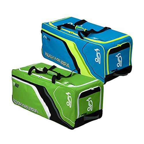 Kookaburra Pro 600 Cricket Wheelie Bag - Blue/Yellow by Kookaburra by Kookaburra
