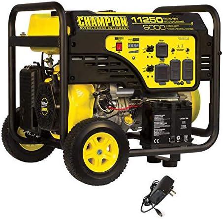 Amazon.com: Champion- Generador eléctrico de arranque 9000W ...