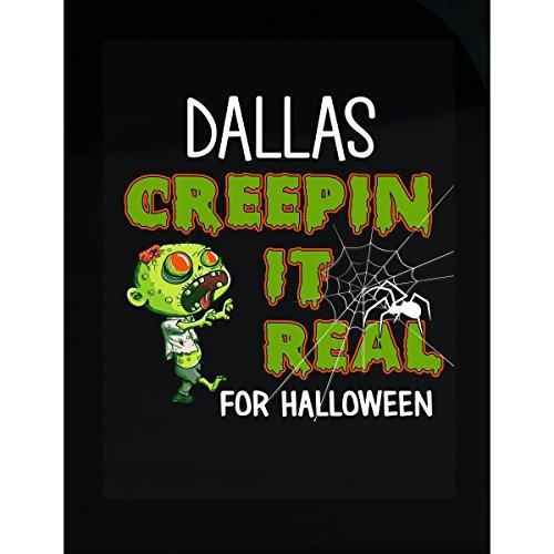 Prints Express Dallas Creepin It Real Funny Halloween Costume Gift - Sticker]()