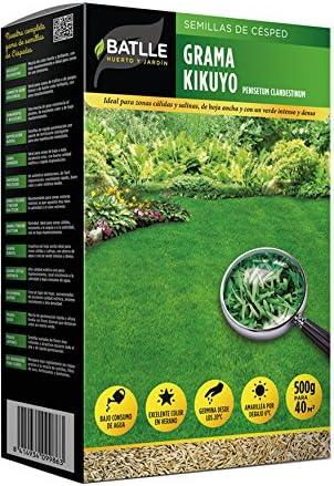 Semillas de Césped - Césped Grama Kikuyo 500g - Batlle