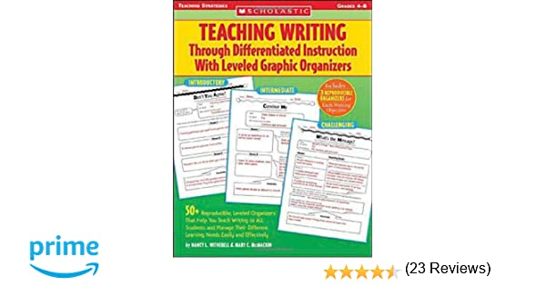 Teaching Writing Through Differentiated Instruction With Leveled ...