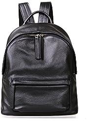 Jack&Chris Backpack Purse Real Leather Backpack Shoulder Bag for Women