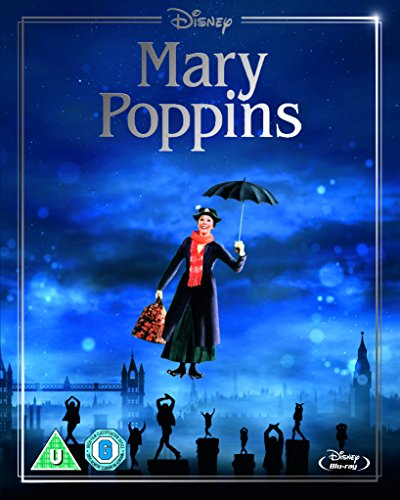 Mary Poppins (Limited Edition Artwork Sleeve) [Blu-ray] [Region Free]
