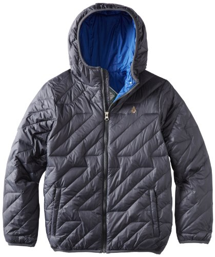 Volcom Big Boys' Hooded Puff Jacket Youth