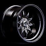 JNC Wheels - 15'' JNC003 Matte Black Rim - 4x100/4x114.3 - 15x8 inch
