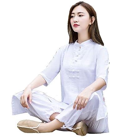 XGYUII Ropa de Uniforme de Tai Chi para Mujer Ropa de Yoga ...