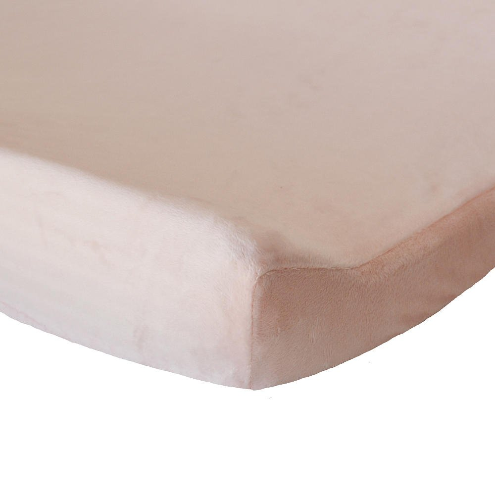 Oliver B Minky Changing Pad Cover - Pink by Oliver B   B00QAM32YS