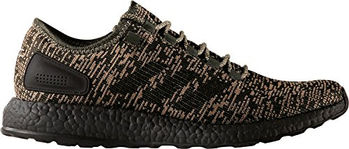 Adidas Man Pureboost Löparskor grön / Svart 9 D m Oss