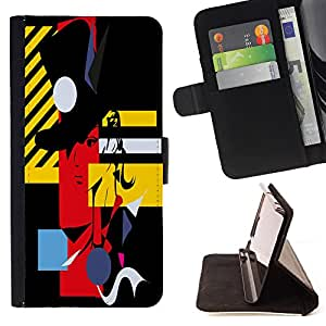 King Case - FOR Sony Xperia Z1 Compact D5503 - ?you need to continue trusting - Prima caja de la PU billetera de cuero con ranuras para tarjetas, efectivo Compartimiento desmontable y correa para la mu?eca