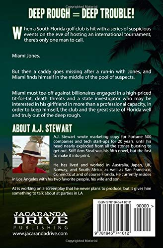 Deep Rough (Miami Jones Florida Mystery): A J  Stewart