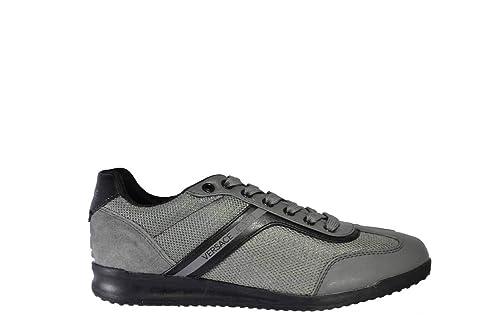 Versace Jeans Wing Cap Hombre Zapatillas Gris: Amazon.es: Zapatos y complementos