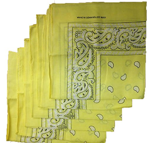6-color-pack-paisley-bandana-scarf-head-wraps-yellow