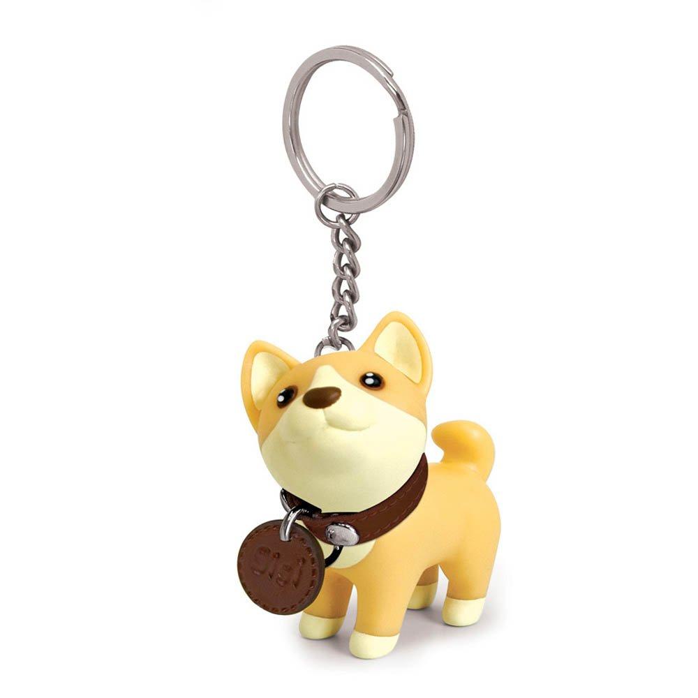 linlins Cute Dog llavero, llavero, Bulldog, husky corgi,, 1 ...