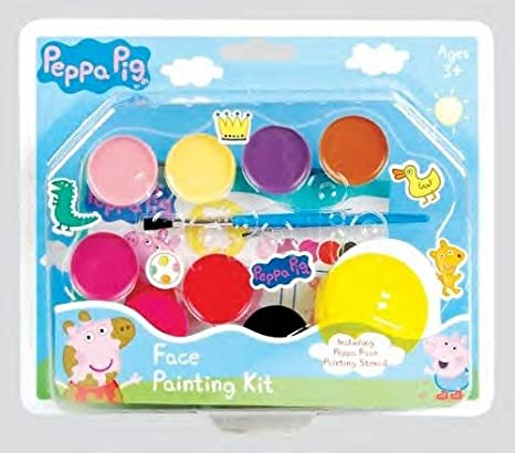 Amazon Com Peppa Pig Pack Of 6 Face Painting Kit Toys Games