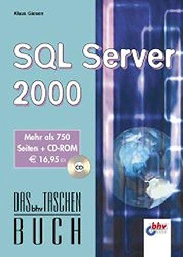 SQL Server 2000 (DAS bhv TASCHENBUCH)