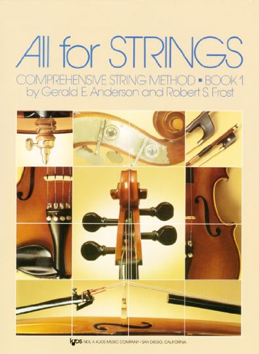 All For Strings Theory Book 1: String Bass Paperback – Jun 1 1987 Robert Frost Gerald Anderson Neil a Kjos Music Co 0849732492