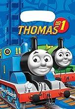 Amscan 552162 Thomas y Friends - Bolsas de fiesta (6 unidades) , color/modelo surtido