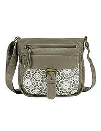 Scarleton Front Lace Crossbody Bag H1926