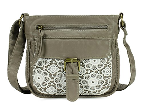 Scarleton Front Lace Small Crossbody Bag H1926