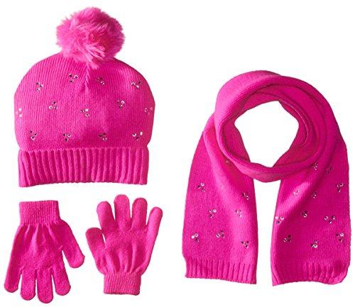 Price comparison product image Toby & Company Big Girls Pop Art Jacquard 3 Piece Set, Pink Sugar, 7-14
