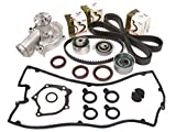 eagle talon timing cover - Evergreen TBK167VCT2 95-99 Mitsubishi Eclipse Eagle Talon Turbo 2.0 4G63T Timing Belt Kit Valve Cover Gasket Water Pump