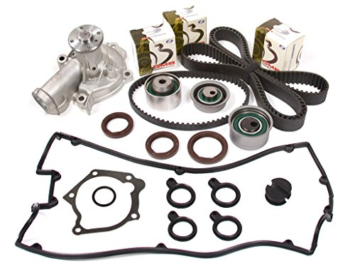 Evergreen TBK167VCT2 95-99 Mitsubishi Eclipse Eagle Talon Turbo 2.0 4G63T Timing Belt Kit Valve Cover Gasket Water Pump - Eagle Talon Turbo