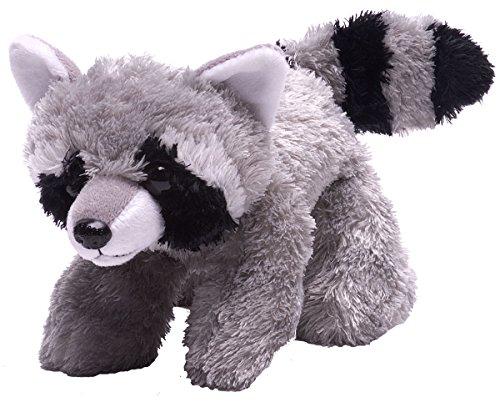 (Wild Republic Raccoon Plush, Stuffed Animal, Plush Toy, Gifts for Kids, Hug'Ems 7