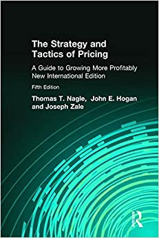 Book The Strategy and Tactics of Pricing by Tom Nagle (2013-08-01)