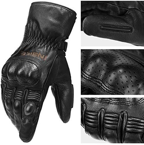 Cold Weather Thermal Full Finger Motorbike Gloves Medium INBIKE Winter Motorcycle Gloves