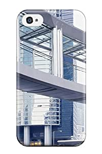 Kastlemane Clyde's Shop High Grade Flexible Tpu Case For Iphone 4/4s - Architectural Buildings 4115190K91131766