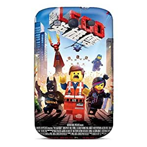 Bumper Hard Phone Cases For Samsung Galaxy S3 (cTk6894ooRp) Custom Nice The Lego Movie Pattern